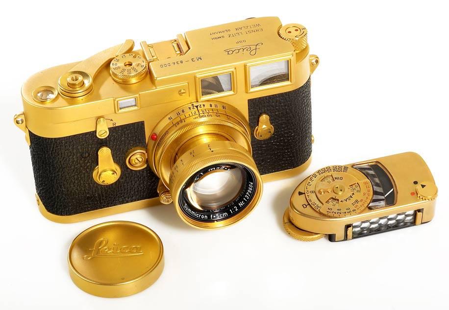 На аукцион выставят редкую фотокамеру Leica