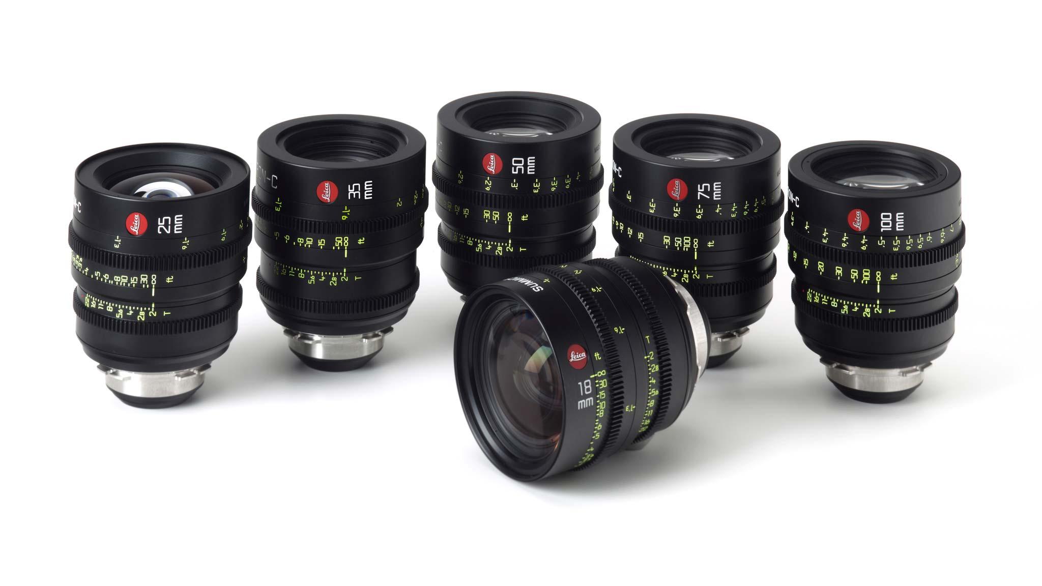Видеообъективы Summicron C от Leica
