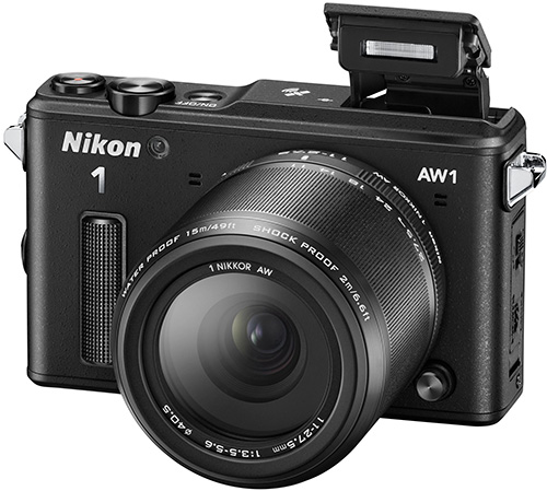 Первое знакомство с защищенной беззеркальной камерой Nikon 1 AW1