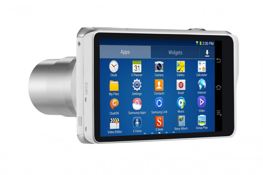 Samsung анонсировала Galaxy Camera 2