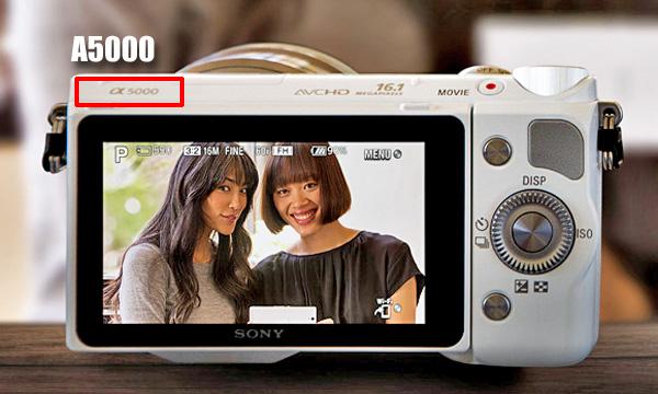 Легкая беззеркалка Sony А5000