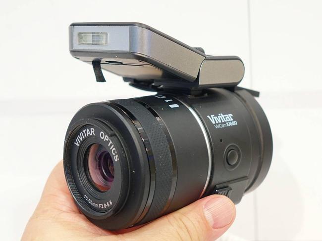 Накладная камера со сменной оптикой