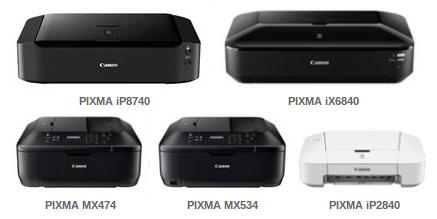 Canon расширяет модельный ряд домашних и офисных принтеров PIXMA