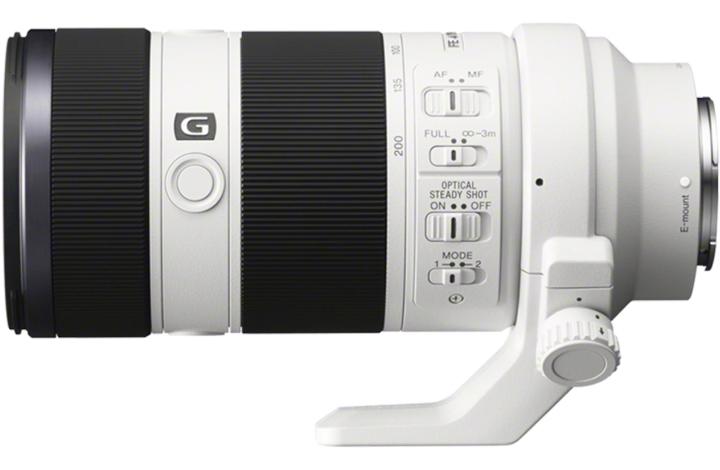 Sony сообщила, что телеобъектив FE 70-200mm F4 G OSS c байонетом Е поступит в продажу в марте 2014 года