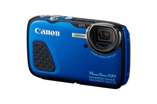Компания Canon представила прочную водонепроницаемую фотокамеру PowerShot D30
