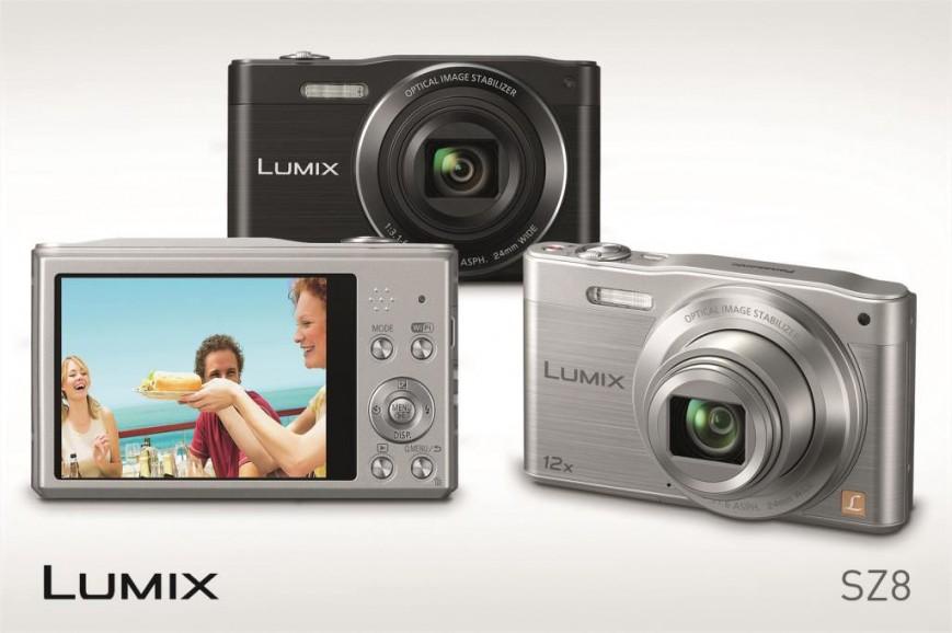 Компания Panasonic представила в России новый цифровой компактный фотоаппарат Lumix DMC-SZ8