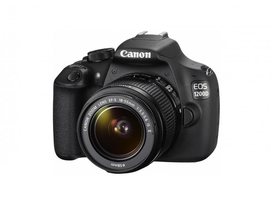 Компания Canon представила EOS 1200D — новую цифровую зеркальную фотокамеру