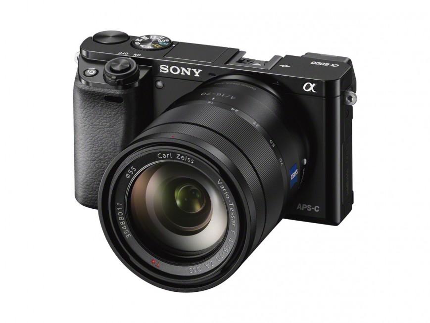 Sony Alpha A6000 обещает самый быстрый автофокус