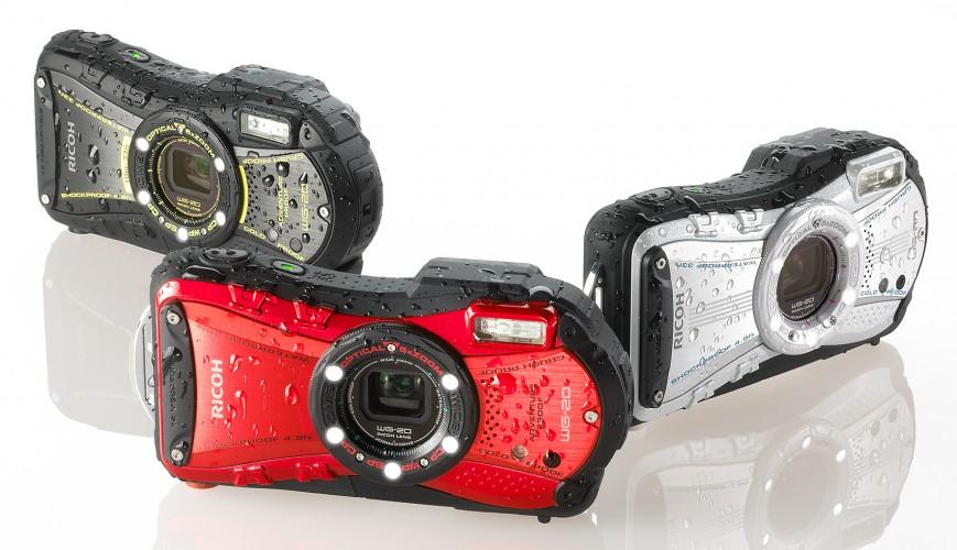 Ricoh WG-20 позволяет снимать на глубине 10 метров