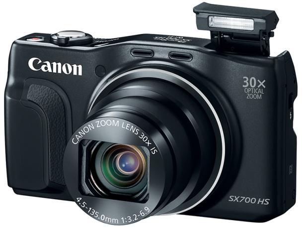 Японская компания Canon выпустила в продажу доступную ультракомпактную фотокамеру PowerShot SX700 HS