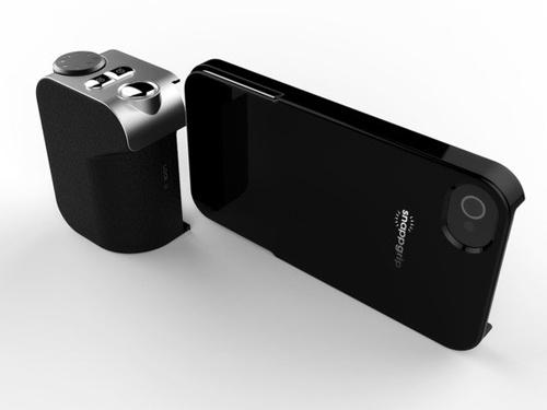 Для заказа доступен оригинальный аксессуар Snappgrip, предназначенный для смартфонов Apple