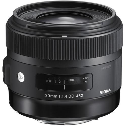 Sigma анонсировала объектив 30мм f/1.4 ART