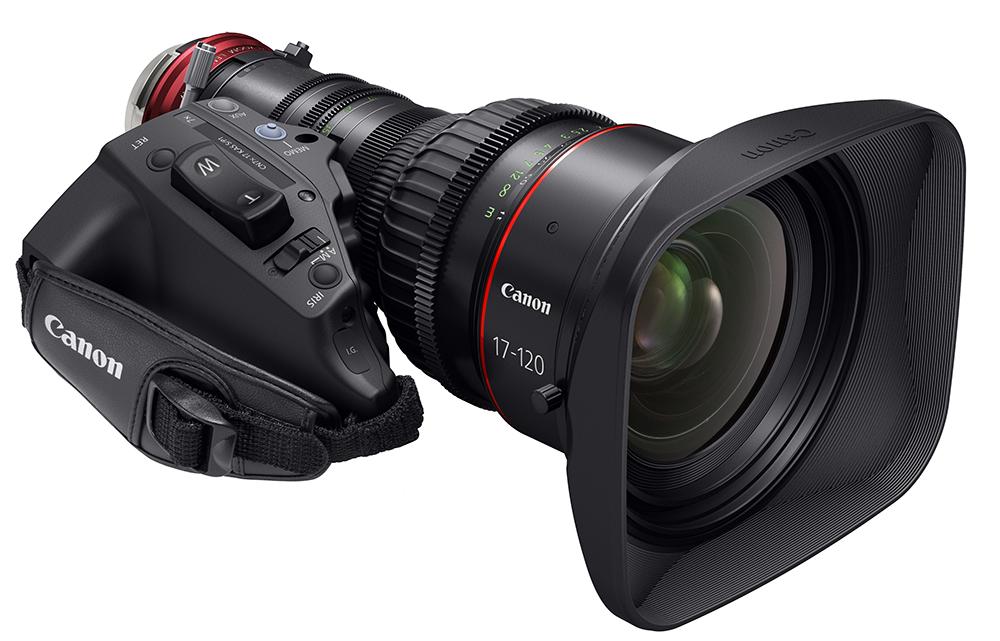 Canon расширяет систему Cinema EOS, выпуская объектив CN7x17 KAS S