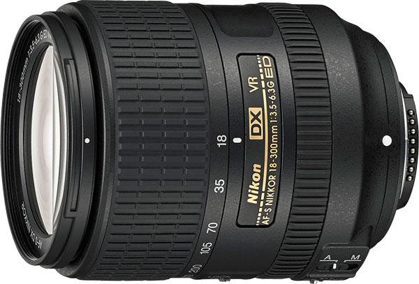 Компания Nikon представила объектив AF-S DX Nikkor 18-300mm f/3.5-6.3G ED VR
