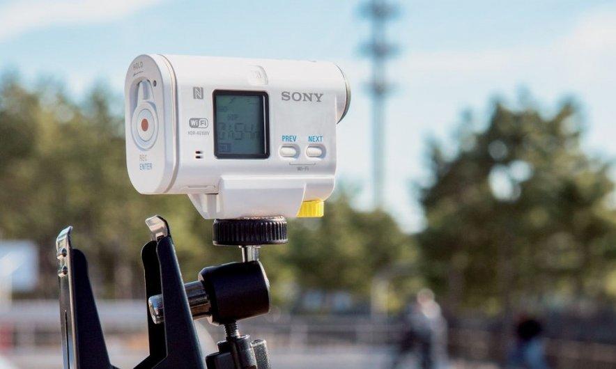 Action Cam AS100V  — новая экстремальная камера от Sony