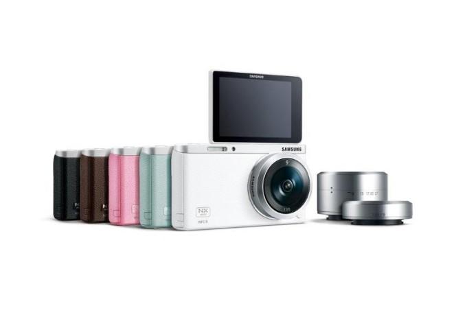 Samsung создала фотокамеру со сменной оптикой NX mini