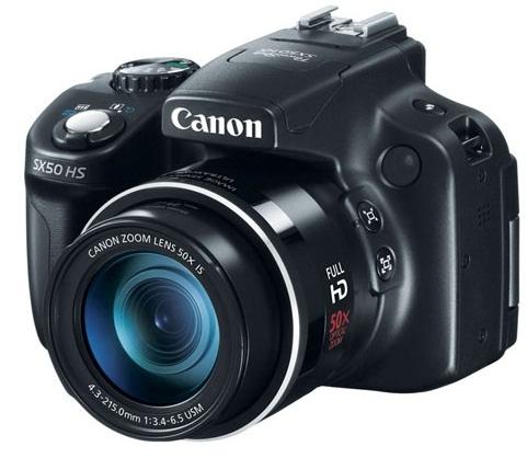 Canon отзывает камеры PowerShot SX50 HS