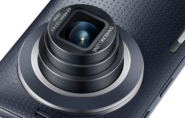 Samsung показала смартфон Samsung Galaxy K zoom