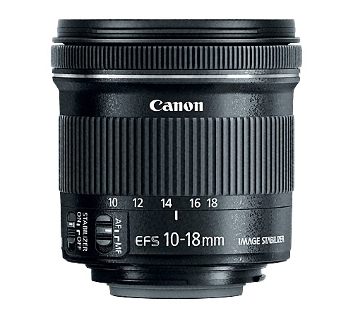 Компания Canon представила объектив EF-S 10-18mm f/4.5-5.6 IS STM