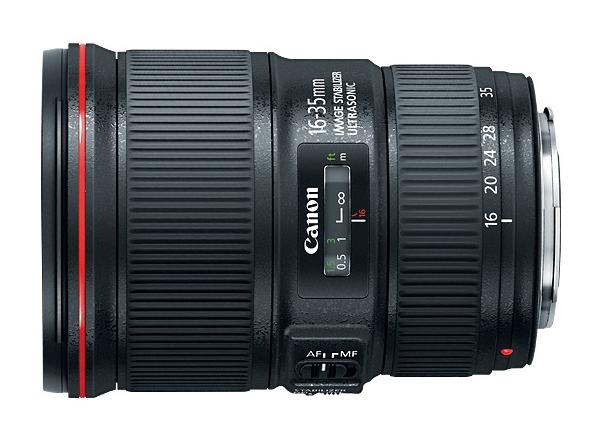 Canon анонсировала два новых широкоугольных объектива