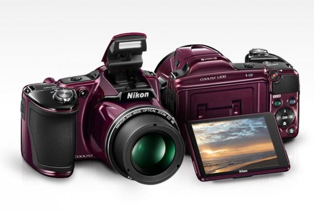 Nikon представила фотокамеру Coolpix L830