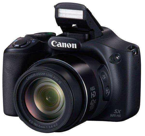 Canon представила PowerShot SX520 HS и PowerShot SX400 IS