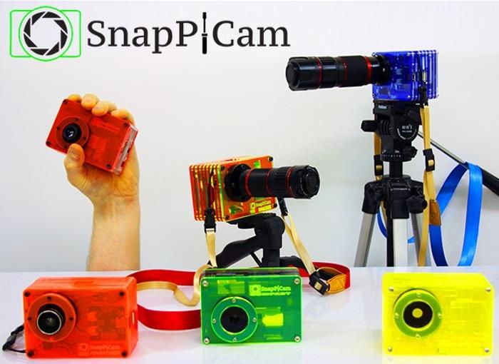 Оригинальная фотокамера на базе Raspberry Pi