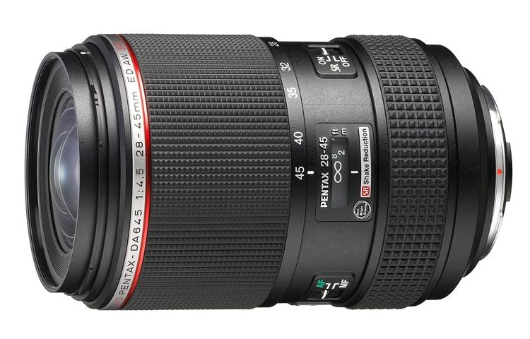 Компания Ricoh Imaging показала объектив HD Pentax-DA645 28-45mmF4.5ED AW SR