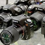 Продажи цифровых камер продолжают снижаться
