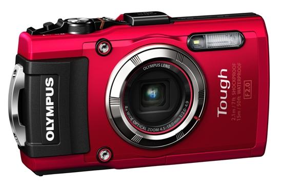 Olympus начала продажи прочной камеры Stylus TOUGH TG-3