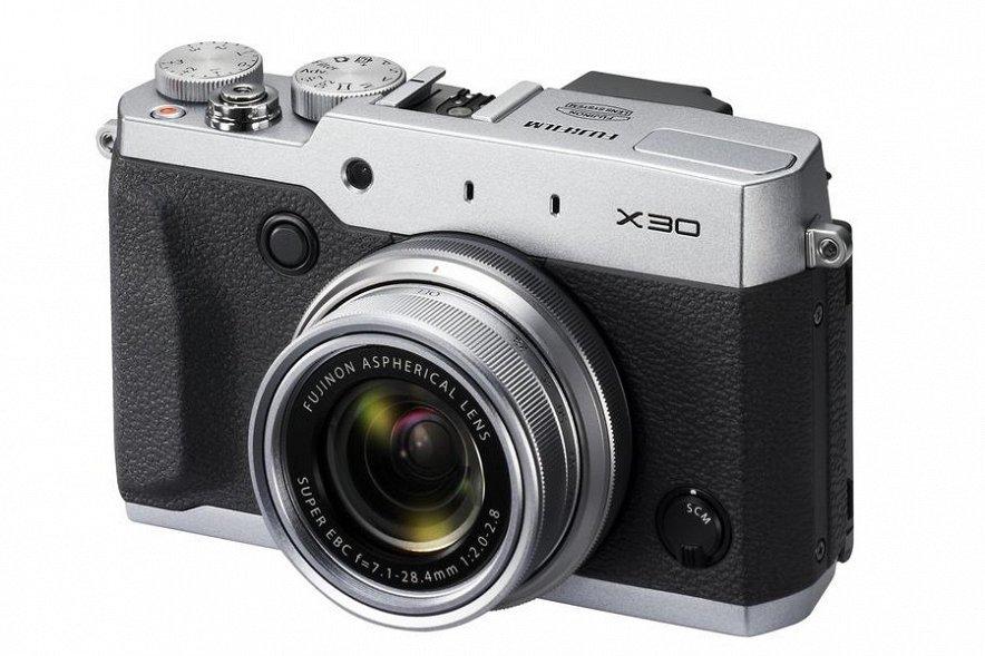 Fujifilm представила новую профессиональную компактную камеру в ретро-стиле — X30
