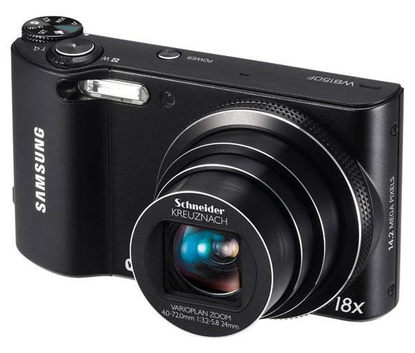 Samsung представила камеру WB150F