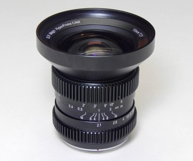 Компания SLR Magic подготовила к выпуску объектив HyperPrime Cine 10mm T2.1