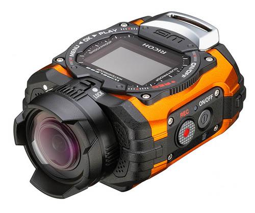 Камера Ricoh WG-M1 предназначена для экстремального спорта