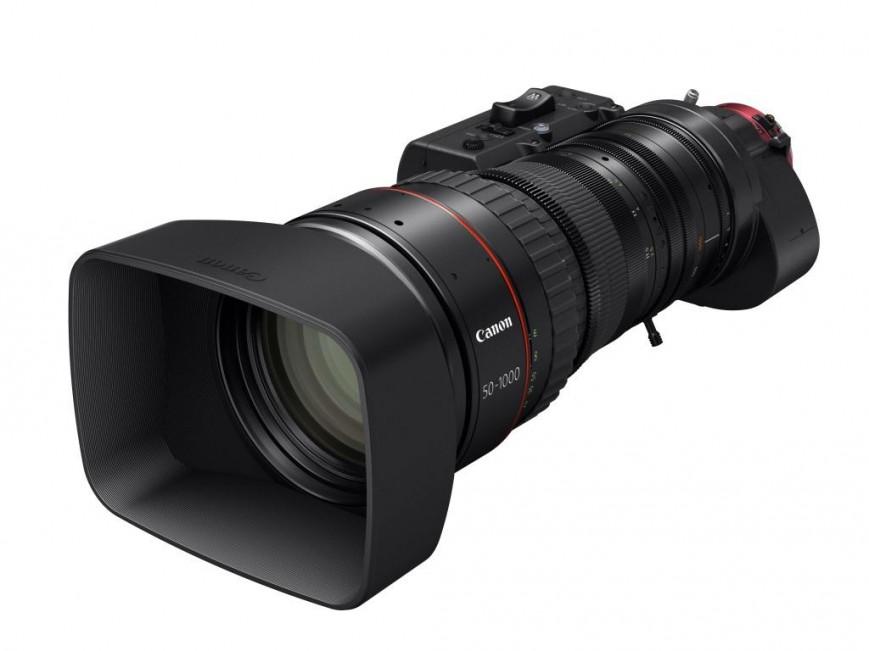 Canon расширяет свой модельный ряд кинообъективов с сервоприводом новой моделью CN20x50