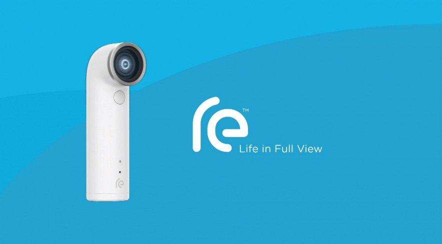 Компания HTC на презентации «Double Exposure» представила новое устройство — экшн-камеру HTC RE