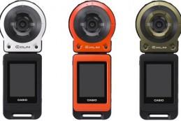 Японская компания Casio представила новую модульную экш-камеру