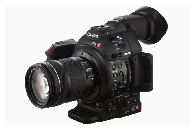 Компания Canon анонсировала второе поколение профессиональной видеокамеры EOS C100