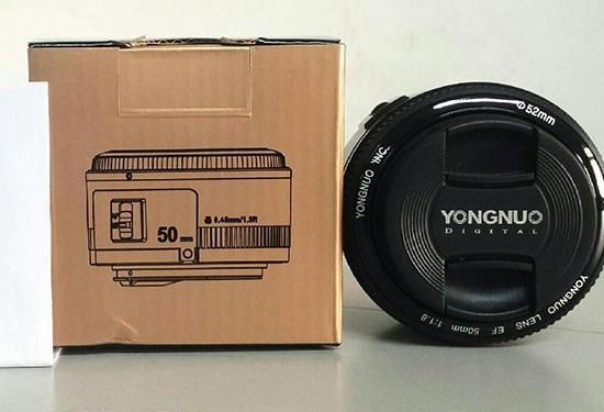 Китайская компания Yongnuo объявила о запуске производства объективов для системы Canon