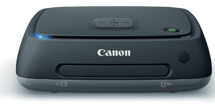 Canon объявляет о выпуске уникального устройства для хранения фотографий Connect Station CS100