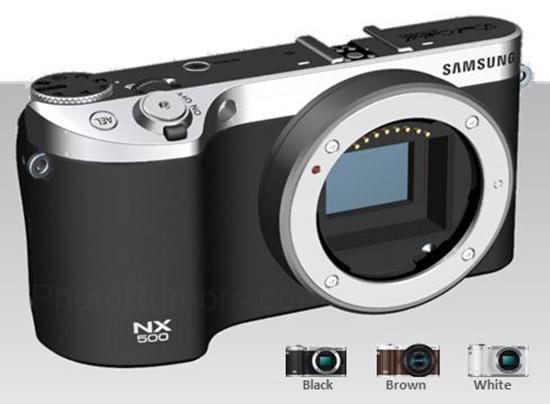 На сайте одного из европейских ритейлеров была замечена информация о камере Samsung NX500 со сменной оптикой