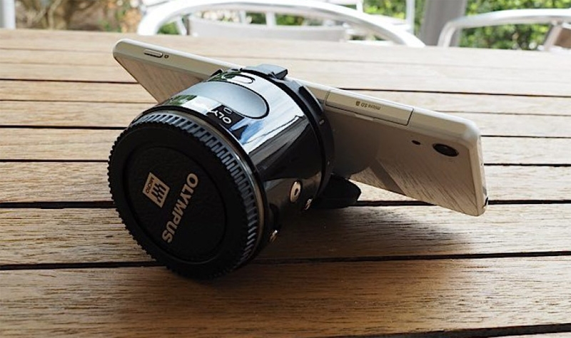 Японская компания Olympus представила камеру-объектив Olympus Air