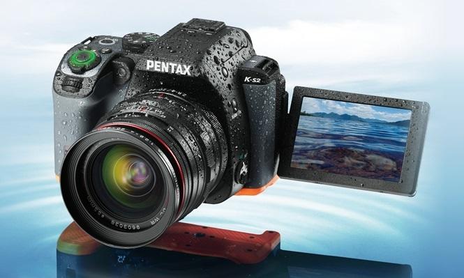 Компания Ricoh представила новую зеркальную фотокамеру Pentax K-S2