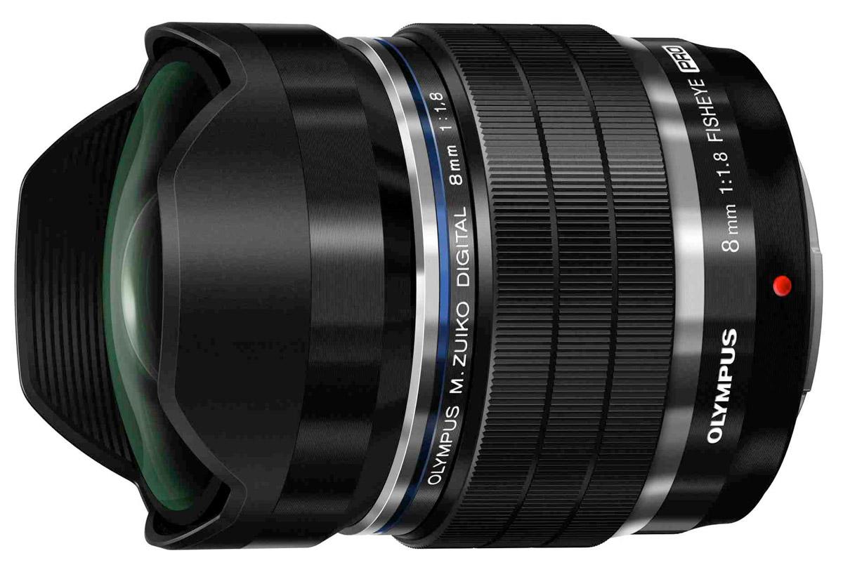 Модель M.ZUIKO DIGITAL ED 8mm Fisheye 1:1.8 PRO находится в разработке и поступит в продажу этим летом