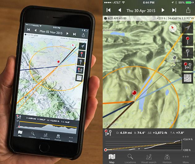 Приложение The Photographer's Ephemeris обновилось для  iOS