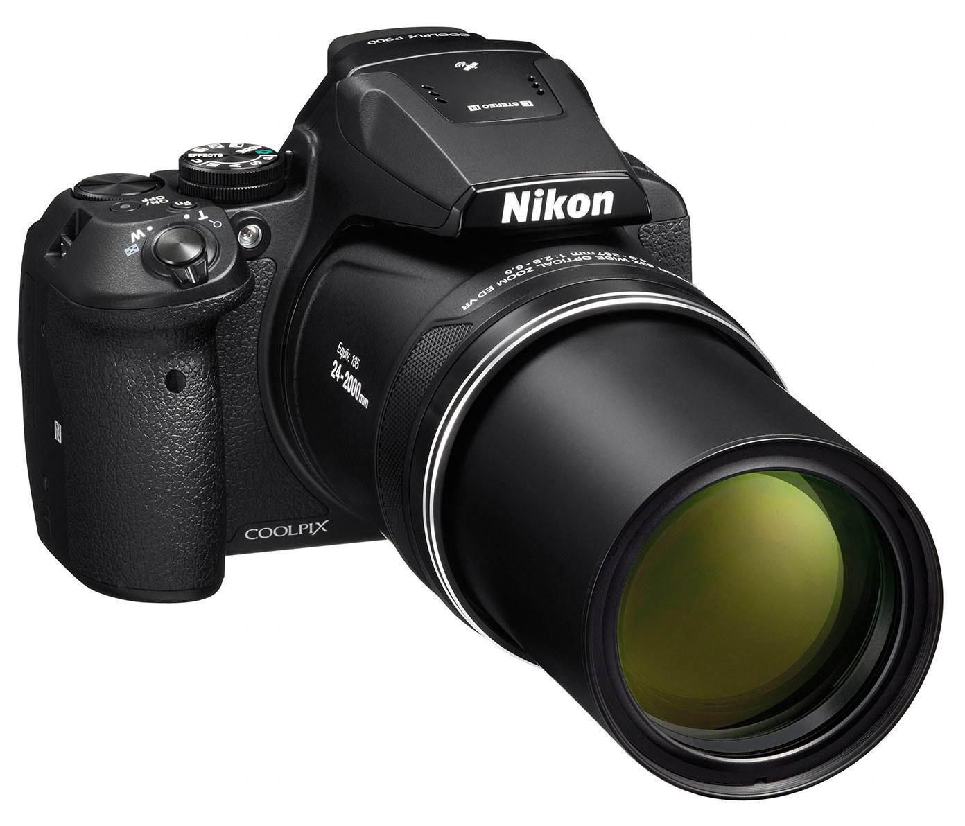 Nikon COOLPIX P900 – маленькая «мыльница», которую можно положить в карман