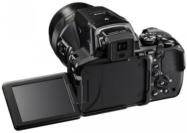 Компания Nikon представила впечатляющую камеру Coolpix P900 с 16-мегапиксельной CMOS-матрицей с обратной подсветкой