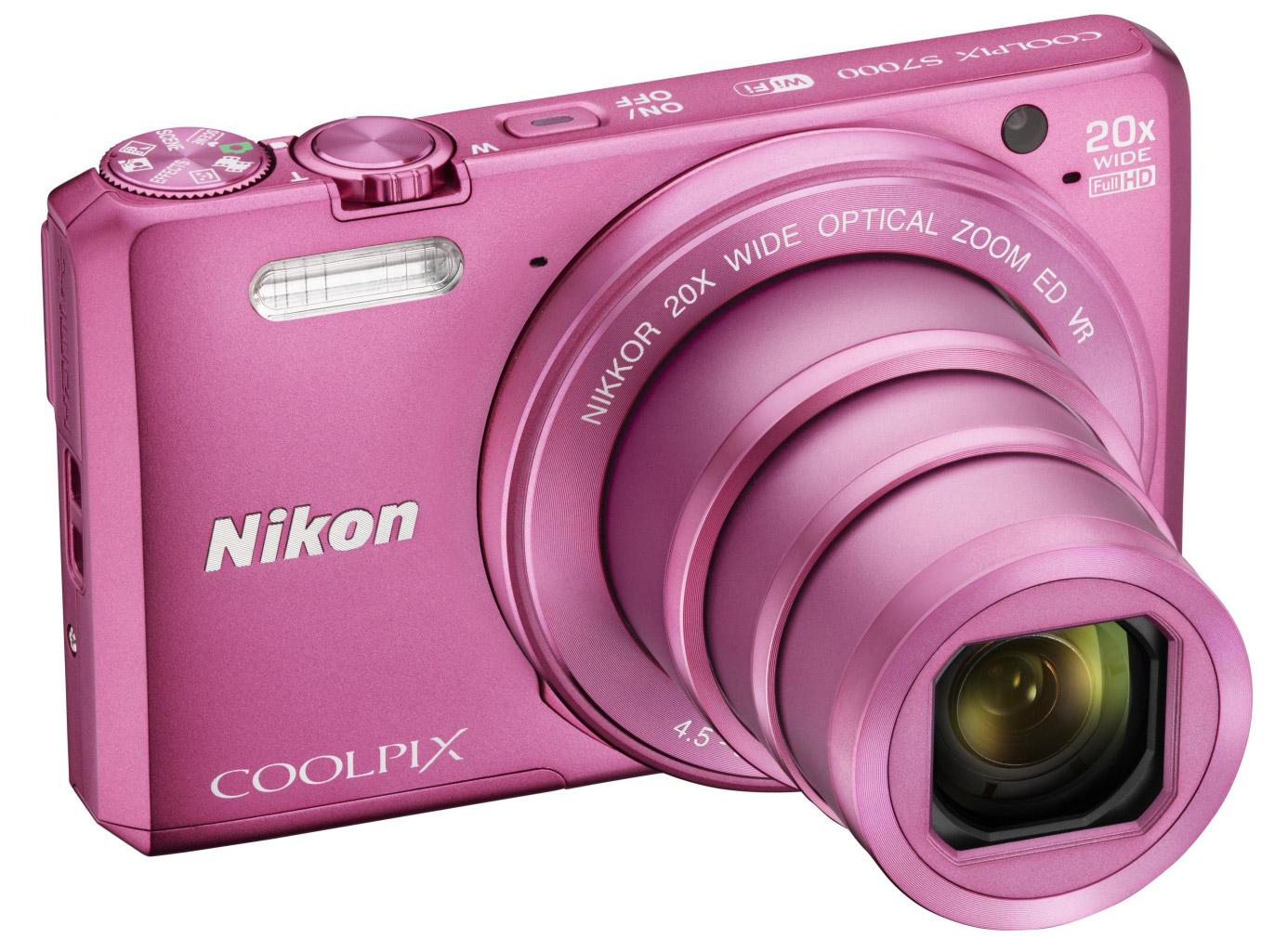 Компания  Nikon показала камеру COOLPIX S7000