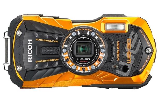 Ricoh выпустила камеру для экстремальных условий WG-30