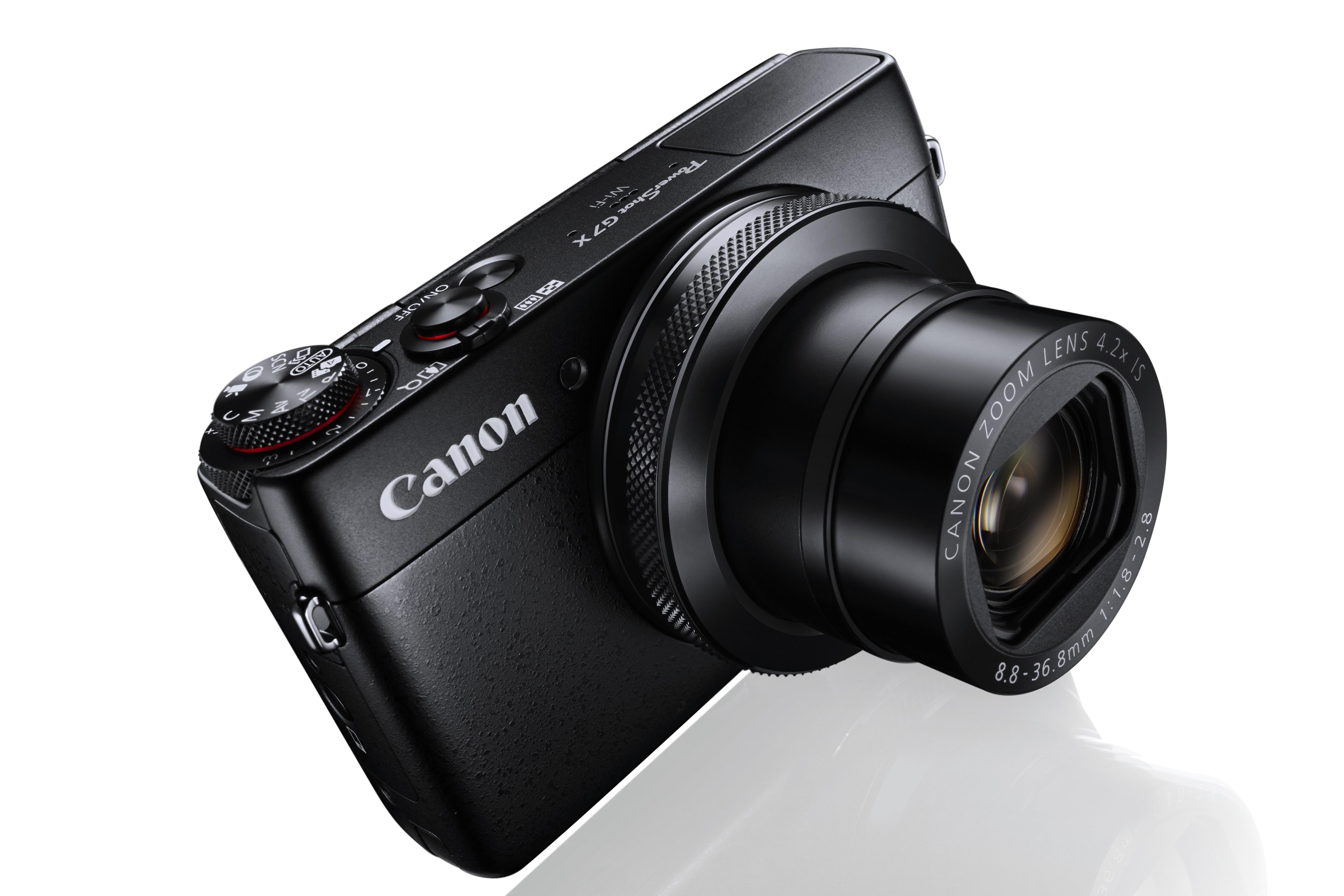 Компания Canon представила камеру PowerShot G7 X